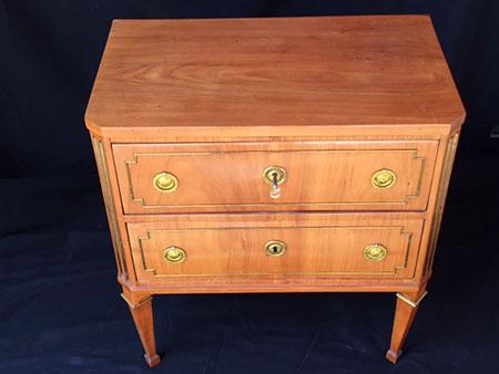 kommode kirsche schlossm bel um 1780 antiquit ten breitenkamp. Black Bedroom Furniture Sets. Home Design Ideas