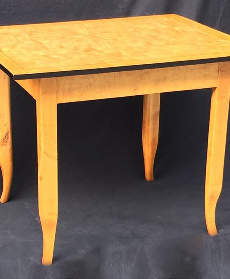 Tisch, Biedermeier, um 1825 Birke