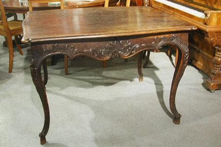 Moselbarock Tisch, Eiche, um 1730