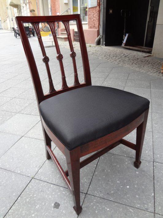 Empire-Stühle, Mahagoni 12er Satz, um 1780