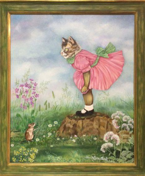 """""""Katze und Maus"""" von Christel Le Vailland"""