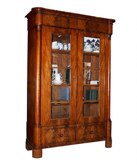 Bücherschrank, Biedermeier um 1830