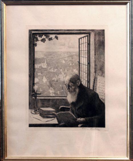 """""""Feierabend"""" von Franz Hecker"""