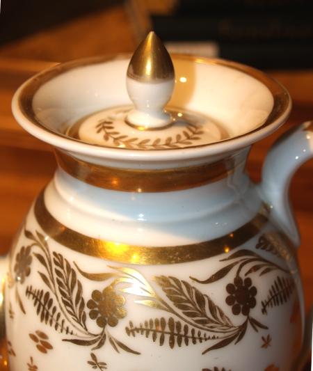 Biedermeier Kaffeekanne