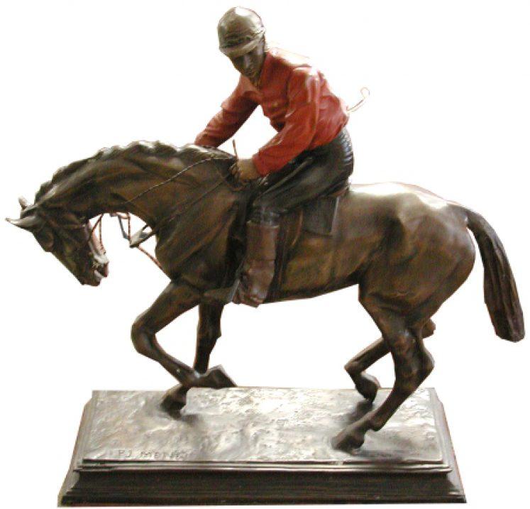 Reiterstatue, Bronze